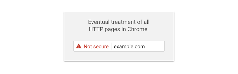 not secure chrome