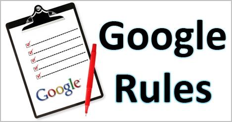 Google regels