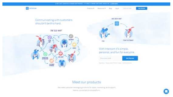 illustraties in Webdesign
