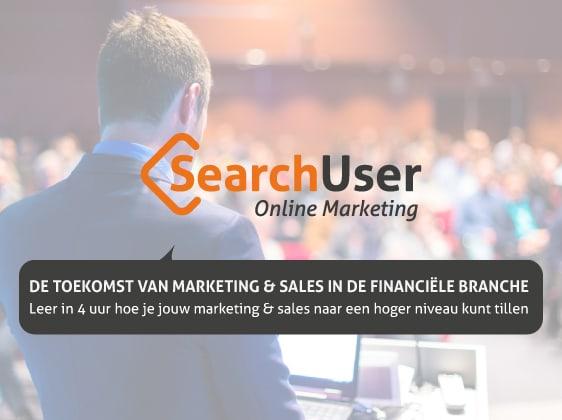 Online marketing event voor de financiële branche