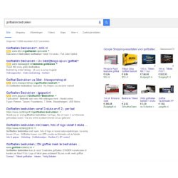 Google shopping results