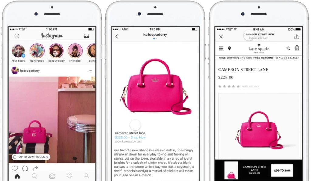 5 social advertising trends 2018 - Instagram