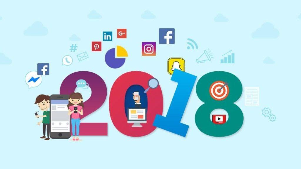 7 belangrijkste social media trends in 2018