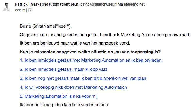 marketing automartion