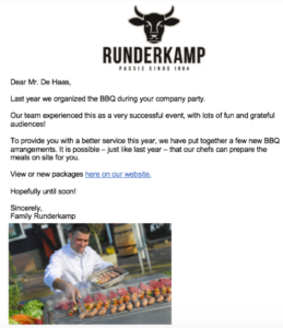 example email Runderkamp