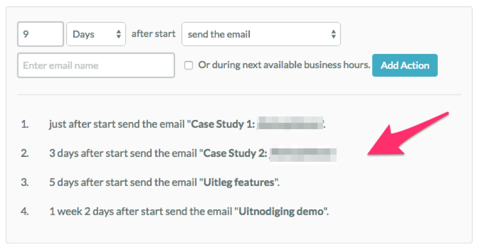 email workflow in marketing automation