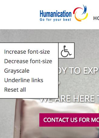 Humanication rolstoel icon