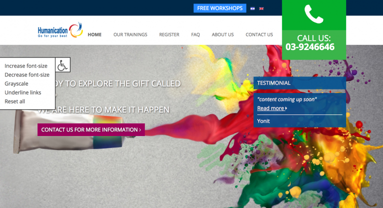 humanication website