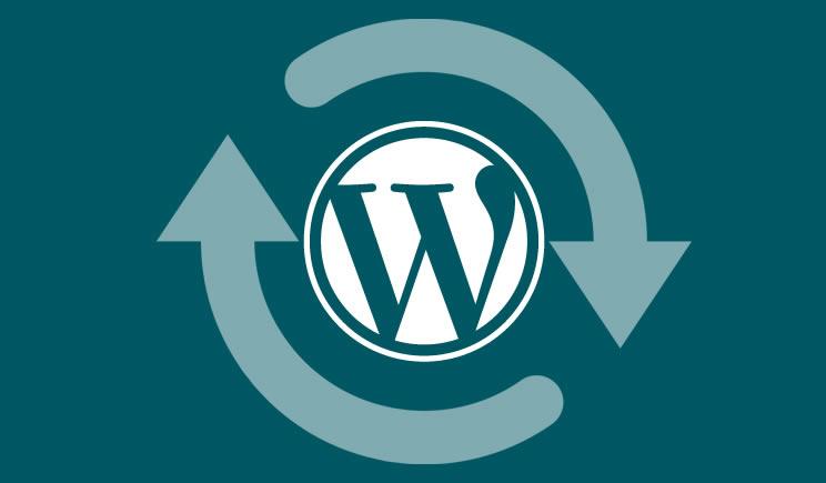 WordPress versie 4.9.8.