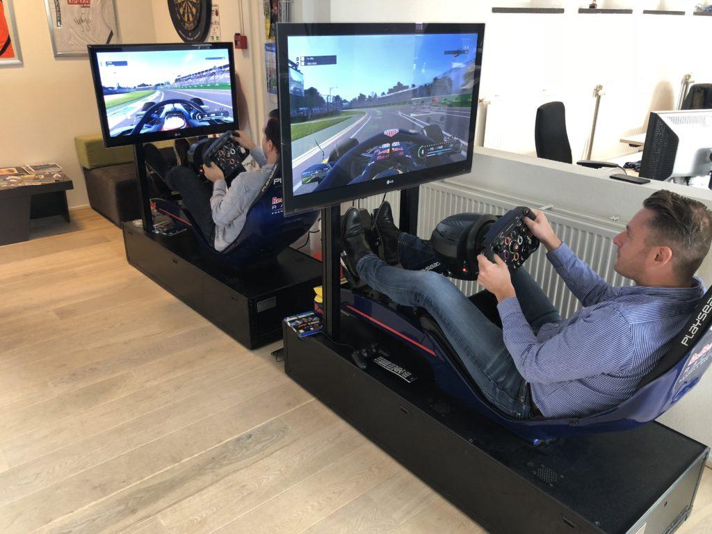 Racen op Play Seats RedBull na goede resultaten