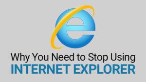 SearchUser stopt met het ondersteunen van Internet Explorer