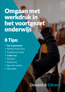Docent direct e-book werkdruk