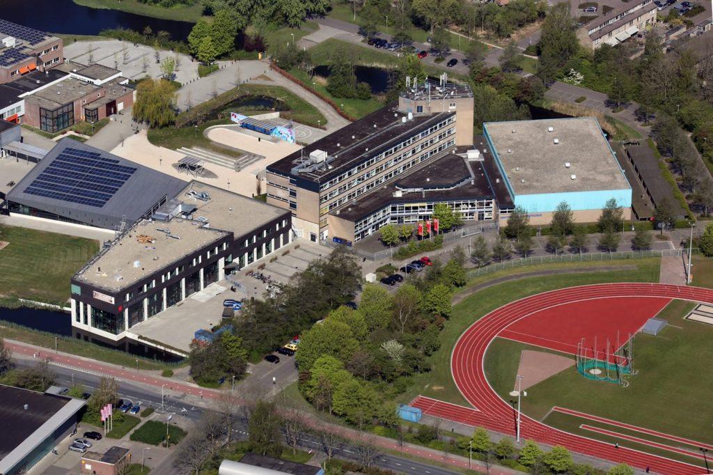 H20 Campus luchtfoto