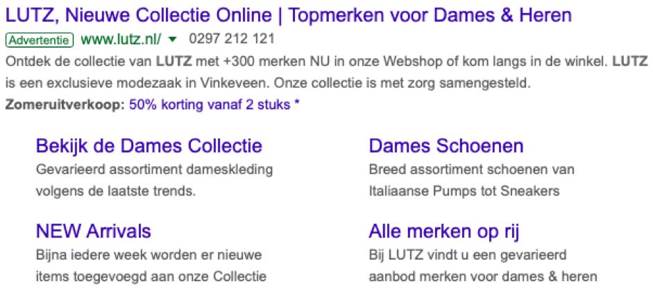 LUTZ Google Ads