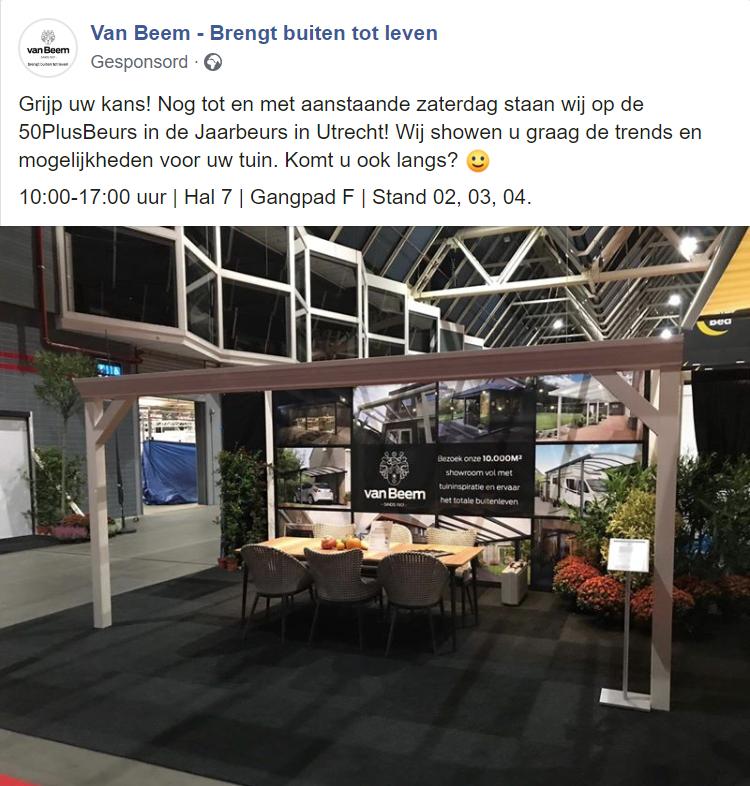 Van Beem beursmarketing - eventmarketing voorbeeld