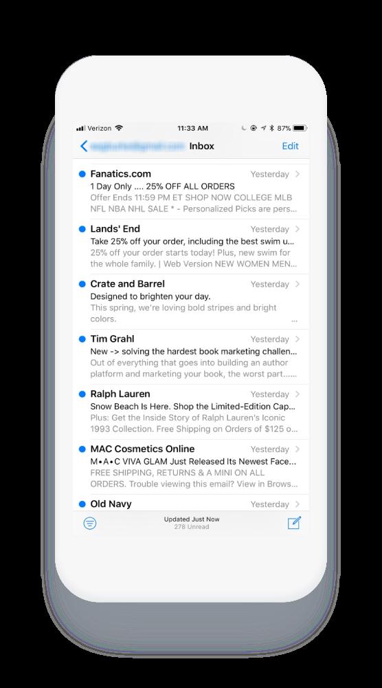 e-mailgewoonten