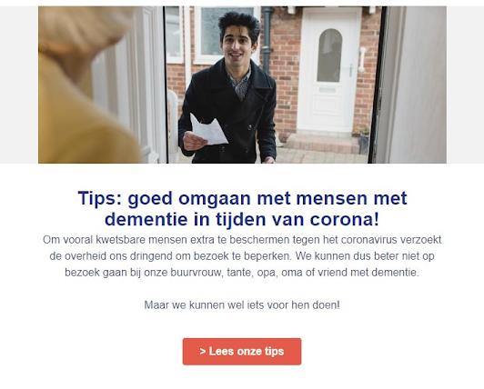 doelgroep helpen - e-mailmarketing tijdens de coronacrisis
