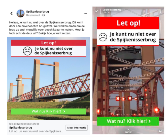 advertenties spijkenisserbrug